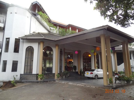 Hotel Elephant Bay: The main entrance