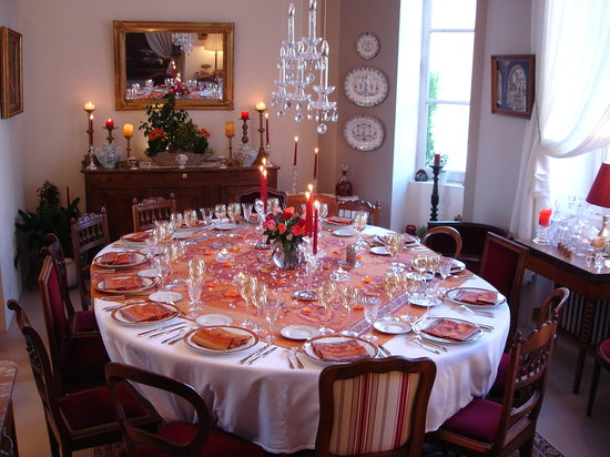 Tiffauges, France : Table d'HOTES