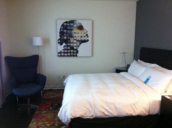 Hotel Zetta San Francisco: the bed