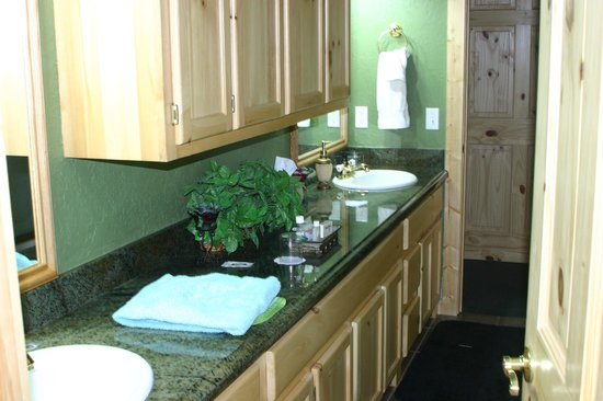 Elkwood Manor Luxury Bed & Breakfast :                   You don't get a bathroom like this in most luxury hotels