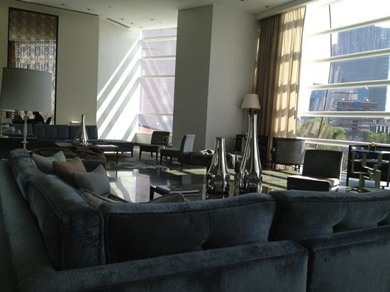 The St. Regis Mexico City:                   3rd floor lobby seating area