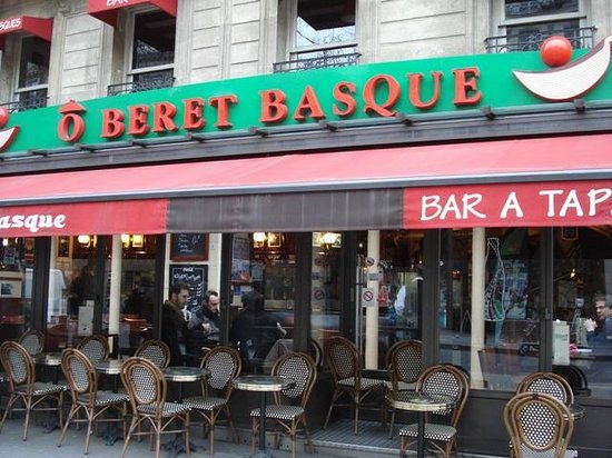 o beret basque paris restaurant reviews photos tripadvisor. Black Bedroom Furniture Sets. Home Design Ideas