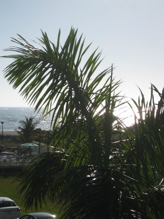 Sunset Vistas Beachfront Suites:                   view from room balcony