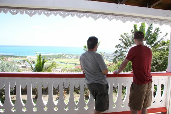 Costa Sur, Saint Kitts:                   Balcony Vista