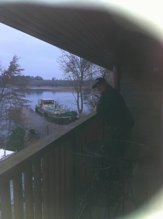 Wineport Lodge: Balcony view from Burgundy