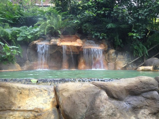The Springs Resort and Spa at Arenal:                   Quiet, and beautiful