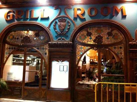 Hotel California:                   The Grill Room &amp; Bar - Delicious food