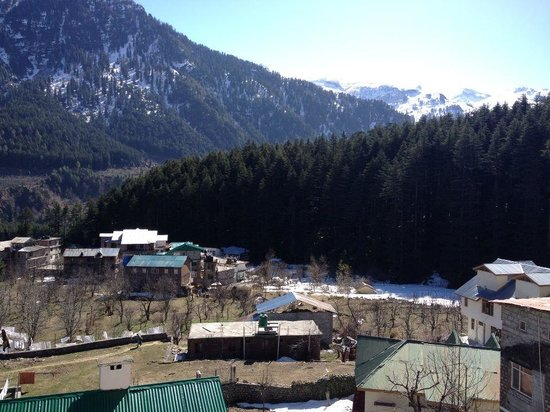 Manali Heights:                                     View from balcony