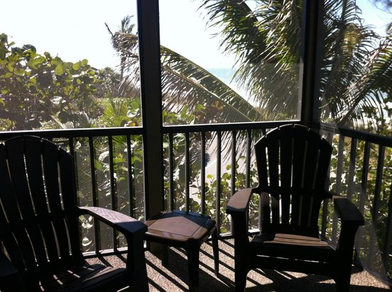 "Jensen's ""On the Gulf"":                   One view from the 3rd floor porch."