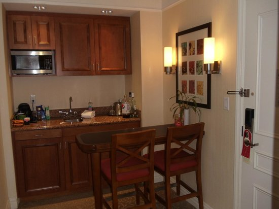 San Carlos Hotel:                   Kitchen area Executive suite