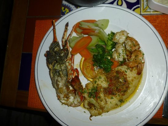 Puerto Nuevo, :                   Seafood combo