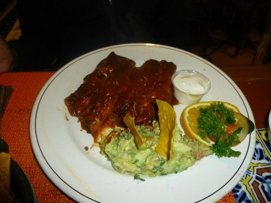 Puerto Nuevo, :                   Chicken Enchiladas