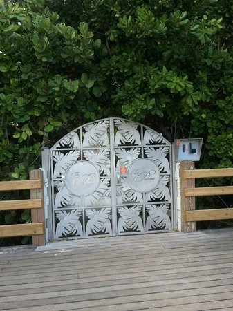 The Palms Hotel &amp; Spa: The Palms door on the boardwalk