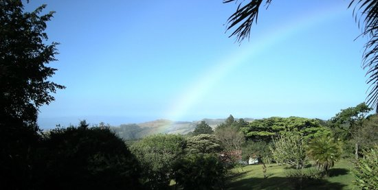 Sunset Hotel Monteverde:                   Arc-en-ciel quasi quotidien