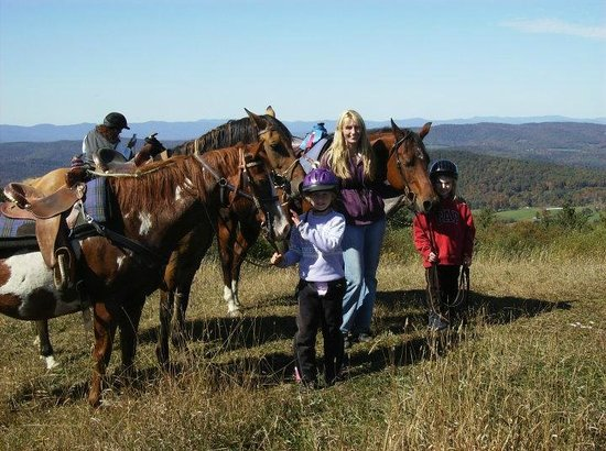 Horseback Riding At Open Acre Ranch Picture Of Lyme