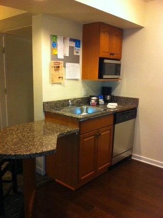 HYATT house White Plains:                   Kitchen