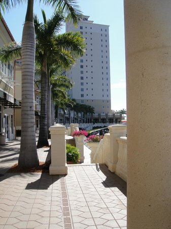 The Westin Cape Coral Resort At Marina Village:                   one ground shot