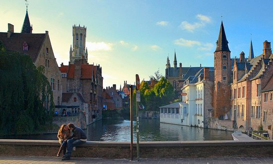 Bruges, Belçika: Photo provided by ©4Corners