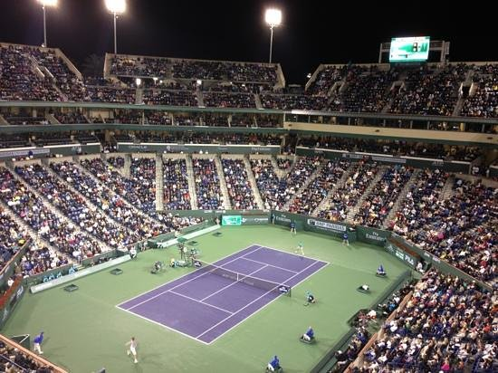 Indian Wells Resort Hotel: free shuttle to tennis stadium