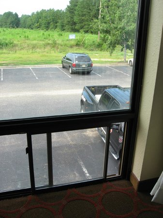 Holiday Inn Fayetteville I-95 South: Windows that open all the way - watch out kids - it's a long way down!!