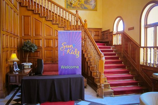 Gold Reef City Theme Park Hotel:                   Reception and Kids welcome area