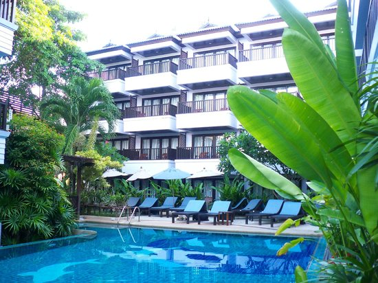 Aonang Buri Resort:                   Facciata dell&#39;albergo