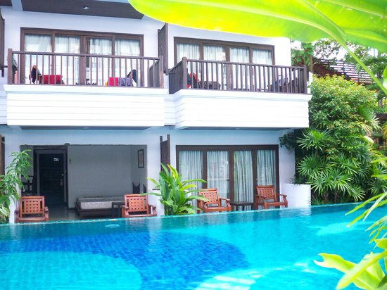 Aonang Buri Resort:                   Camere sulla piscina