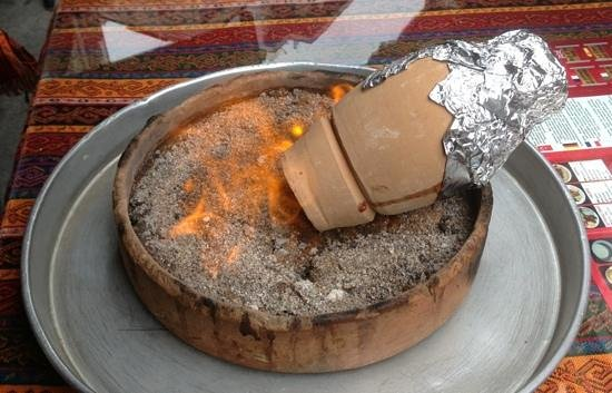 testi kebabi -- kebab cooked in a clay pot - Picture of Akdamar ...