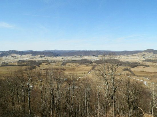 View Of Burke 39 S Garden From Appalachian Trail Picture Of
