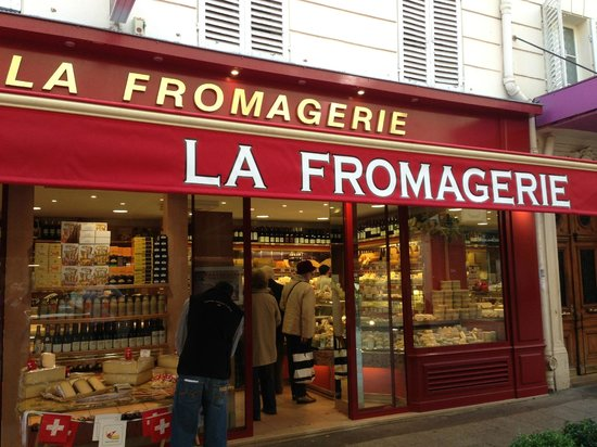 la fromagerie great place on rue cler in the market area