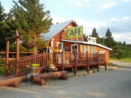 Saint Mary, MT:                   Fantastic Food!  EAT HERE