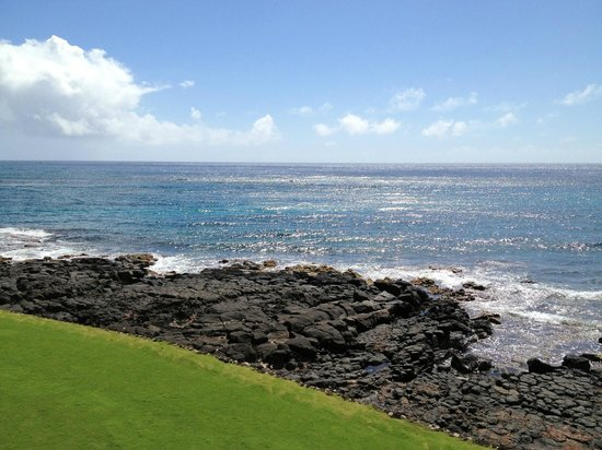 Kuhio Shores Condos:                   view from lanai