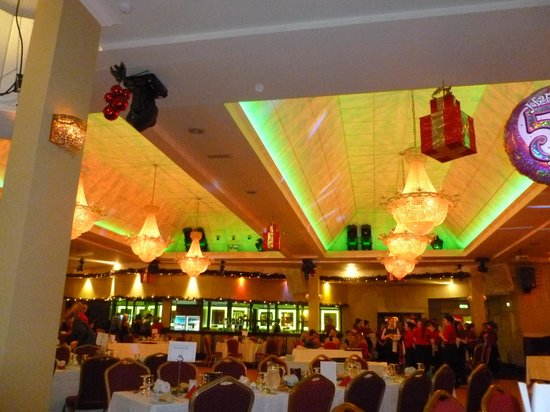 Carrickdale Hotel: The decorated party room