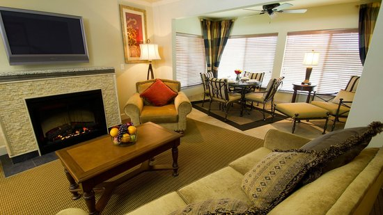 Two Bedroom Living Room Picture Of Suites At Fall Creek Branson Tripadvisor