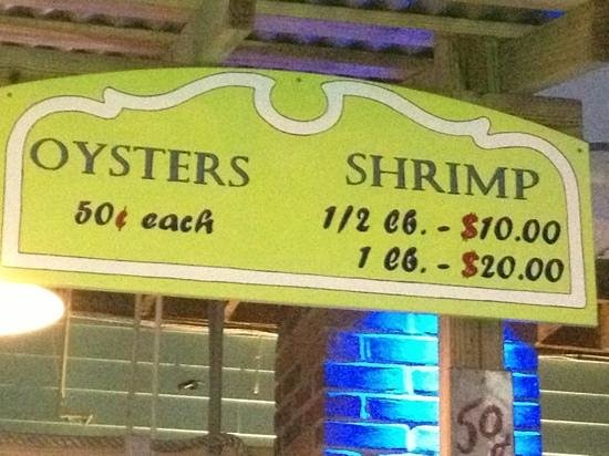 Cent Oysters South Padre Island