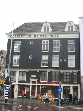 Bellevue Hotel:                                     cafe karpershoek