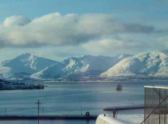 Radisson Blu Hotel, Tromso:                   view from fitness suite