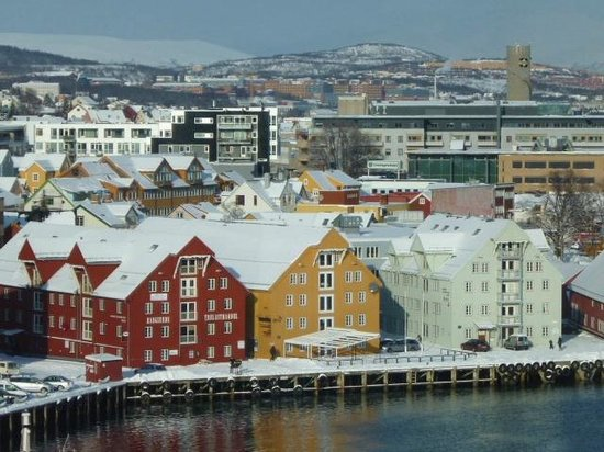 outside the radisson blue in tromso norway picture of. Black Bedroom Furniture Sets. Home Design Ideas