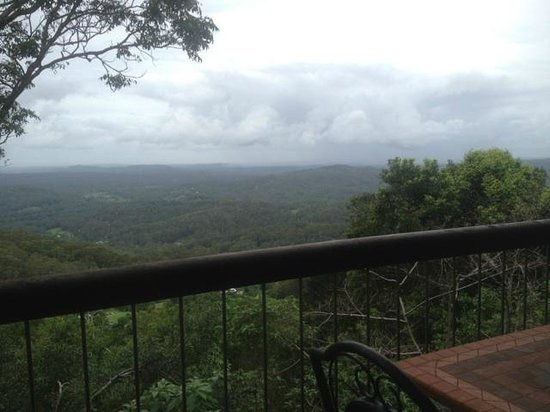 At Remingtons Lodge & Private Cottages:                   The View