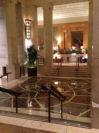 Four Seasons Hotel New York:                   Front lobby