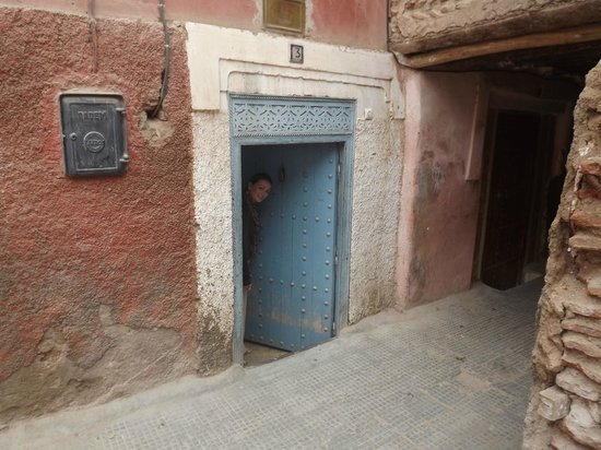 Riad Ineslisa:                   The Door to the Riad