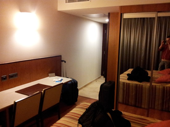 HC Brussels:                                     Our Room