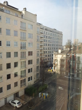 HC Brussels:                                     View from our room, 5th Floor