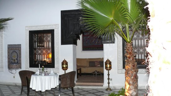 Le Riad Monceau: Pour un diner romantique !