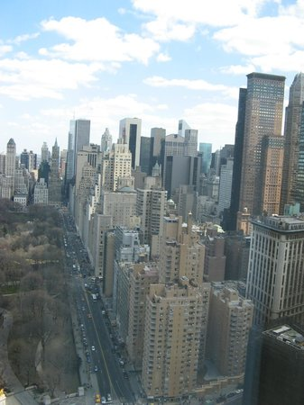 Mandarin Oriental, New York:                   Executive room with Central Park views