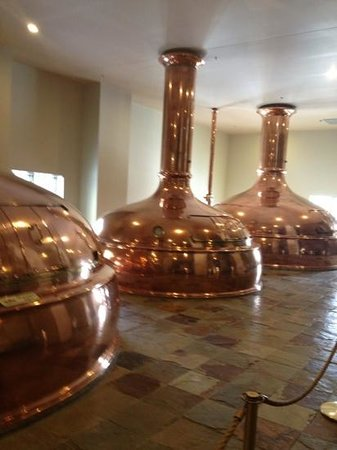 New Glarus, WI:                   polished copper