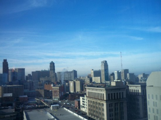 Greektown Casino Hotel:                   View our last morning with no fog