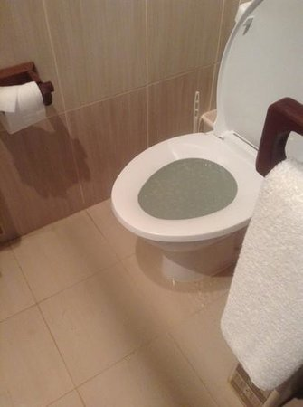 Wet Floor Flooding Toilet Picture Of Amani Tiwi Beach