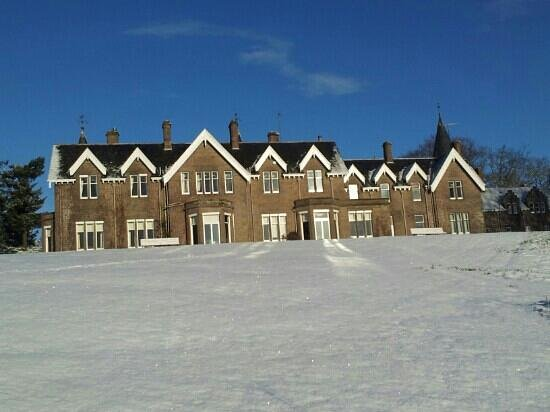 Stanley, UK:                   Ballathie in the Snow