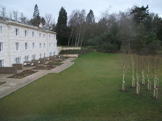 Rudding Park Hotel:                   View from Room 209